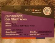 Hundekarte der Stadt Wien